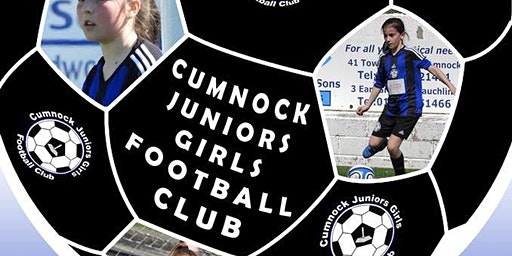 Cumnock Juniors Girls FC Awards Afternoon
