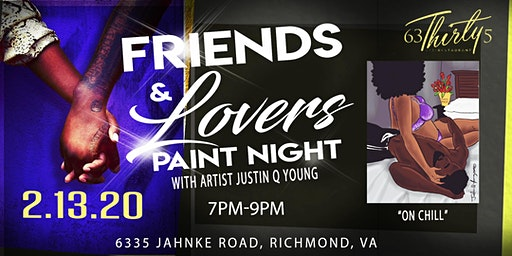 Friends & Lovers Paint Night-RVA