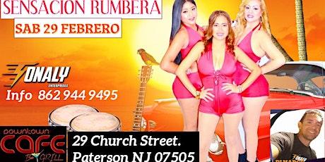 DE RUMBA  CON SENSACION RUMBERA tickets