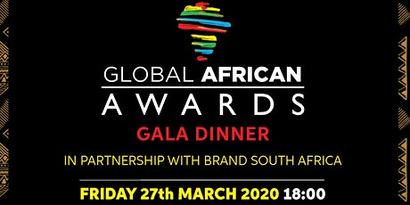 Global African Awards Gala Dinner tickets