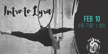 Intro to Lyra (Aerial Hoop) tickets