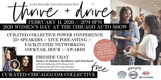 Thrive + Drive at Women's Day at the 2020 Chicago Auto Show