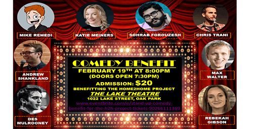 Stand-Up Comedy Benefit for the H2H Project