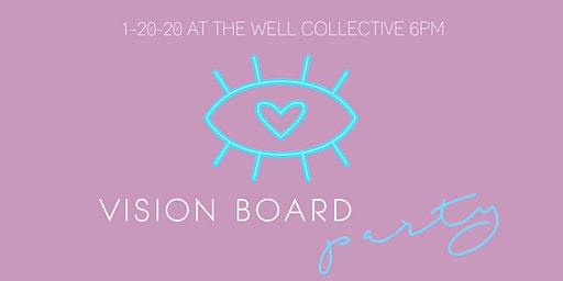 ✨VISION BOARD PARTY!