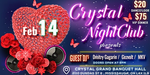 Valentine's Crystal Night Party