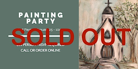 SOLD OUT - FP - Painting Party tickets