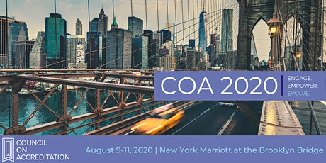 Council on Accreditation 2020 Conference tickets