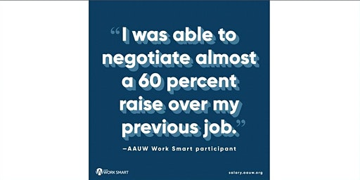 Pay Equity Starts With You — Start Smart / Work Smart, Let AAUW Lead the Way