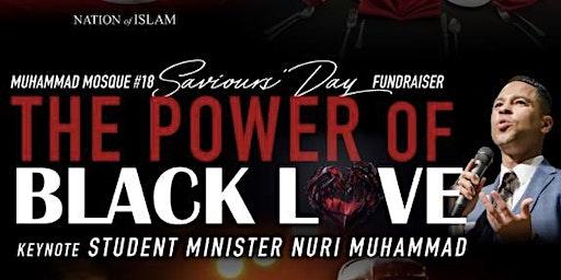 """The Power of Black Love"" keynote Student Minister Nuri Muhammad"