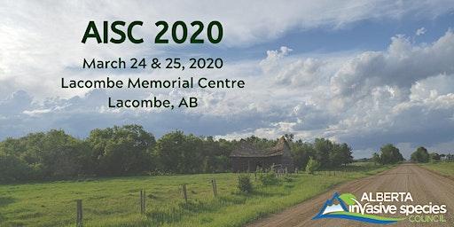 Alberta Invasive Species Council  (AISC) 2020 Conference