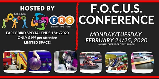F.O.C.U.S  Conference 2020 for Family Fun and Events Industry