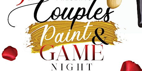 Couples Paint  & Game Night tickets