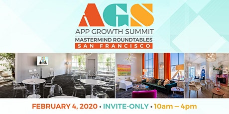 AGS Mastermind Roundtables SF 2020 tickets