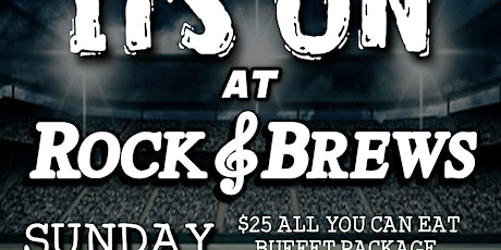 Game Day at Rock & Brews tickets