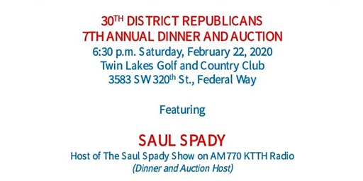 30th District Republicans 7th Annual Dinner and Auction