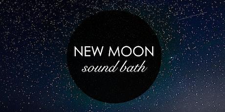 New Moon Sound Bath Meditation with Reiki tickets