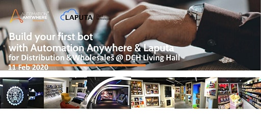 """""""Build-your-1st RPA-bot"""" Workshop  for Distribution & Wholesale  industries"""