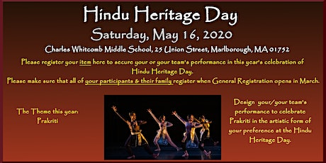Cultural Program Registration HHD 2020 tickets