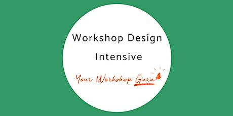 Workshop Design Intensive tickets