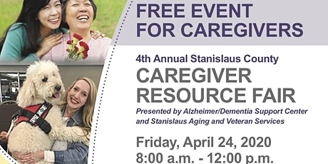 4th Annual Stanislaus County Caregiver Resource Fair tickets
