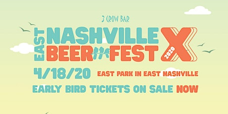 East Nashville Beer Festival X presented by 3 Crow Bar tickets