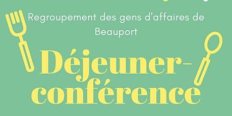 Déjeuner-Conférence du Regroupement des gens d'affaires de Beauport billets