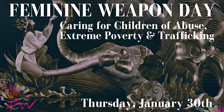 Feminine Weapon Day benefiting Children in Need tickets