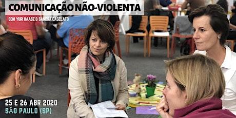 Introdução à Comunicação Não-Violenta em SP com Sandra & Yuri bilhetes