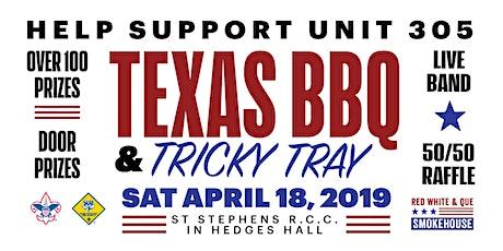 TEXAS BBQ & TRICKY TRAY 2020 tickets