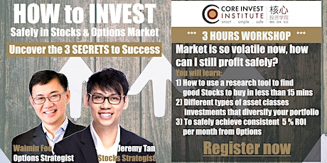 How to invest safely (Special: 1 FREE Shariah Compliant Stock Research) KL tickets