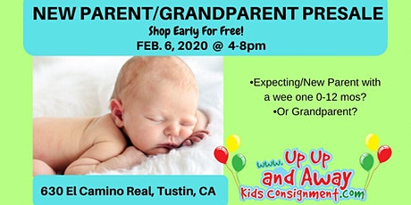 New Parent/GrandParent FREE POP-UP EVENT Up Up And Away Kids tickets
