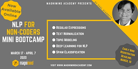 NLP for Non-Coders Mini Bootcamp (4 days - 12 hours)(Available Online) tickets