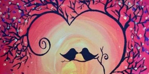 Valentine Paint Party at THE CLUB AT LAKEVIEW