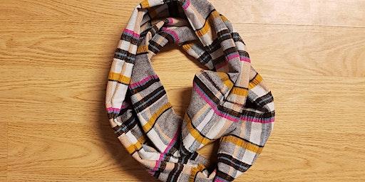Sew an Infinity Scarf, and BYOB!