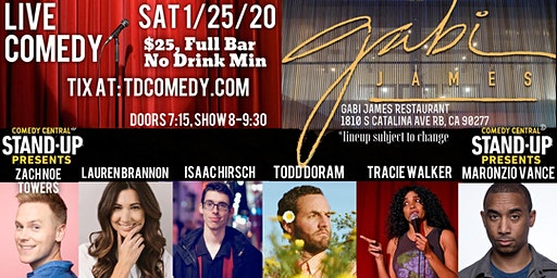Live Comedy in Redondo Beach on 1/25!
