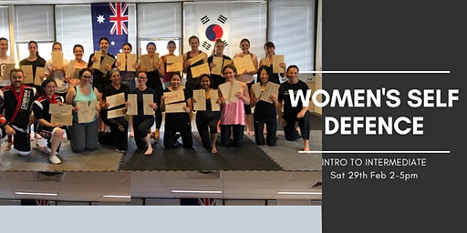 Intro to Intermediate - Women's Self Defence