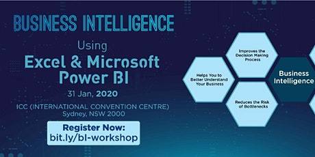 Business Intelligence using Excel & Microsoft Power BI Workshop, Sydney tickets