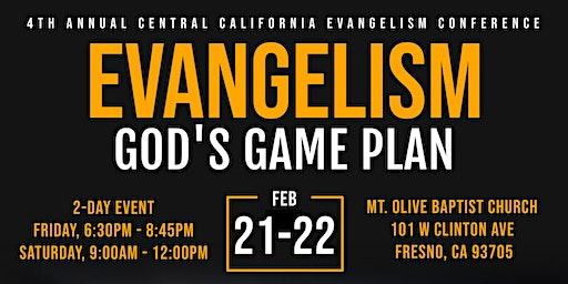 Evangelism - God's Game Plan