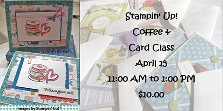 Stampin' Up! Coffee & Cards tickets