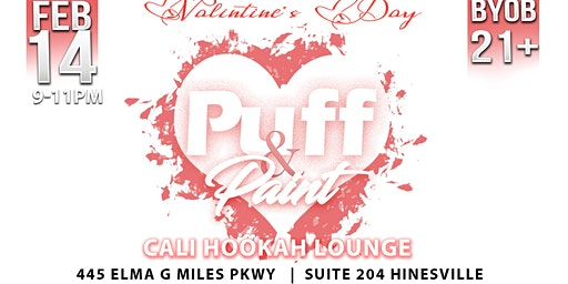 Valentines Day Puff & Paint
