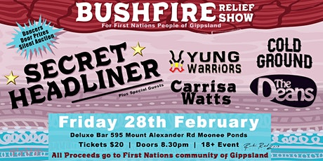 Fire Relief Fundraiser for First Nations People of Gippsland tickets