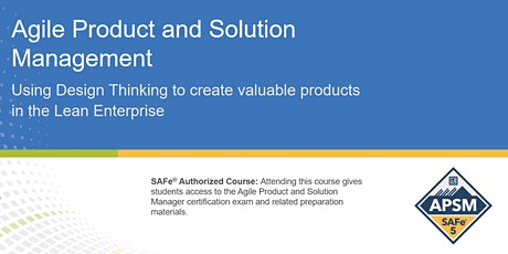 Agile Product and Solution Management  Certification Training in Toronto tickets