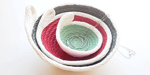 Coil Rope Bowls -Machine Sewn! DIY Class!