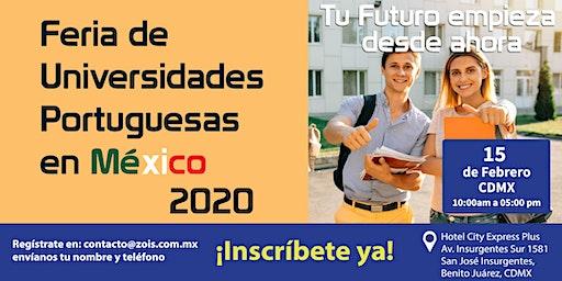 FERIA DE UNIVERSIDADES PORTUGUESAS EN MÉXICO 2020