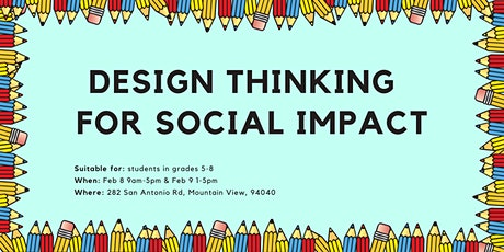 Design Thinking for Social Impact tickets