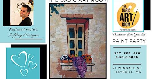 Paint Nite at The Basic Art Room