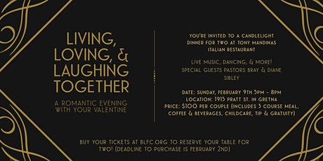 Living, Loving & Laughing Together tickets