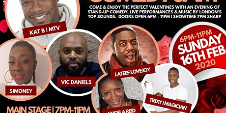 VALENTINES COMEDY JAM | HACKNEY PICTURE HOUSE | KAT B (MTV Base) & Guests tickets