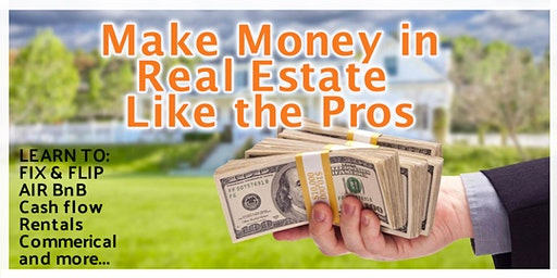 Make Money Like the Pros in Real Estate...VA
