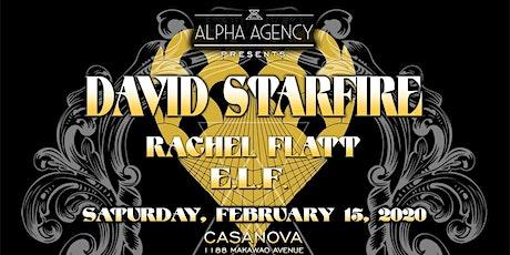David Starfire featuring ELF & Rachel Flatt tickets